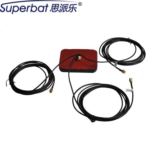Superbat Рекомендуем Марка Multi-band GPS Wifi Иридиум Антенна Антенна Усилитель Сигнала с SMA Разъем Разъемы 107 Х 86 Х 17.5 мм