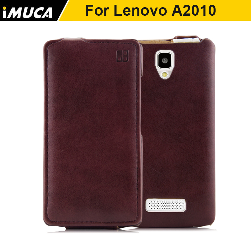 Lenovo a2010 case cover luxury vertical flip leather case for Lenovo A2010A A2010-A Dual Sim phone cover back housing skin shell