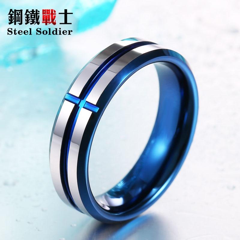 Oțel soldat înalt polonez 100% Real Tungsten Fashion 6mm conise inel de tungsten inel de nuntă de cea mai bună calitate pentru bărbați și femei bijuterii