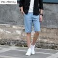 Pantalones cortos de Los Hombres 2017 de Moda de Verano Pantalones Cortos Para Hombre Pantalones Cortos de Playa Bermudas Masculina de Algodón Delgado Ocasional Pantalones Joggers Pantalones Cortos Hasta La Rodilla