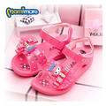 Zapatos de Los Planos de Bowtie Sandalias de Las Muchachas 2017 Niños Del Verano Lindo Bebé de La Princesa Playa Sandalias de Los Niños Para Las Muchachas chaussure fille