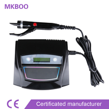 High quality  Hair High-end Latest Digital Ultrasonic Hair Extension Machine Connector  White /black Color Free Shipping