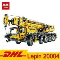 LEPIN technic series 20004 20005 20006 20007 20008 Crane Truck Loader Excavat Building Block Toys Compatible LegoING Bricks
