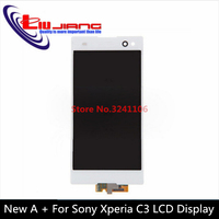 XIANHUAN High Quality 100 Test LCD Touch Display Screen Digitizer Assembly Replacement For Sony Xperia C3