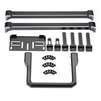 Metal Front / Rear Bumper for 1/10 RC Crawler Traxxas TRX 4 Metal stainless steel Front+Rear Bumper
