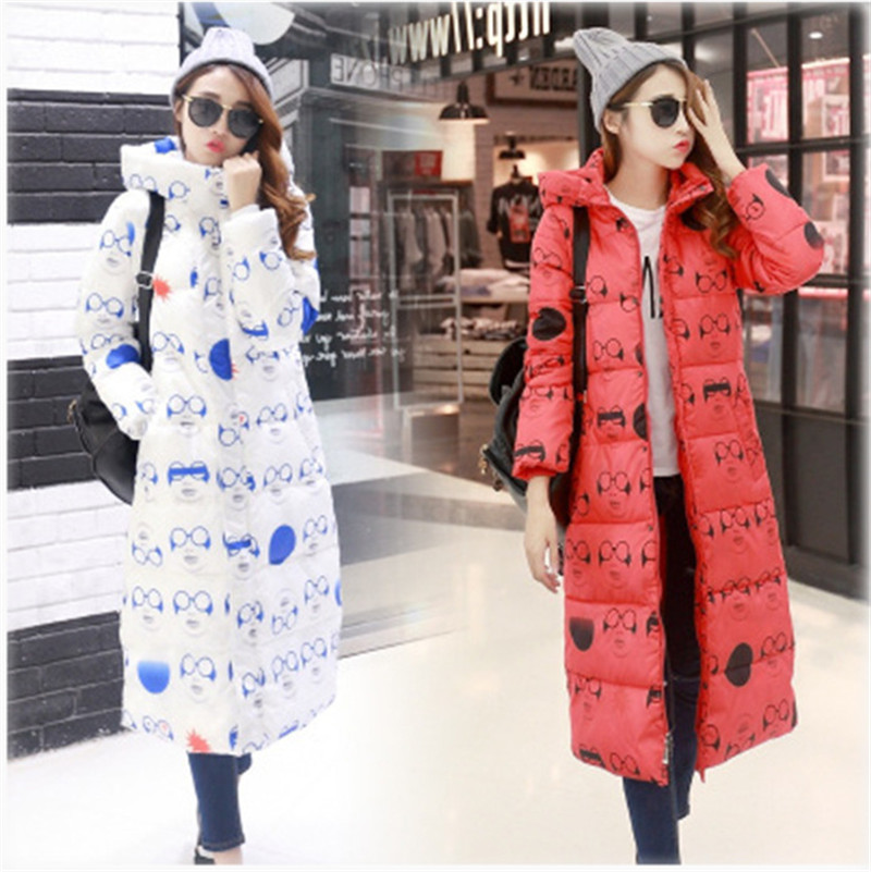 Casual overcoat winter jacket thickening coat hooded women slim medium-long  parka Padded outwear plus size CC025 new winter women jacket medium long thicken plus size outwear hooded wadded coat slim parka cotton padded jacket overcoat cm1039