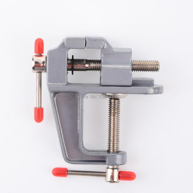 Free Shipping Mini Machine Tool Lathe Drill Milling Vise Diy Table Small Aluminum
