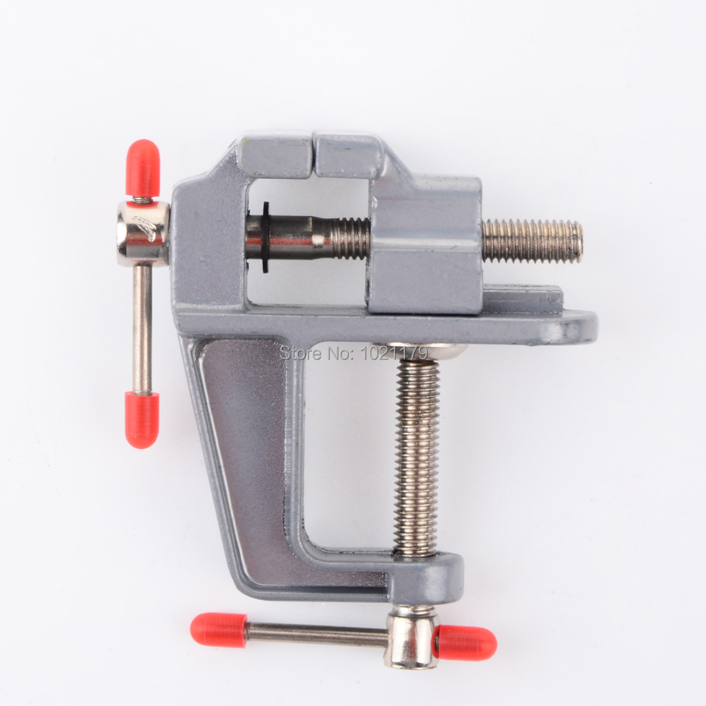 Mini machine tool lathe drill milling machine vise DIY table vise small aluminum vise bench vise ...
