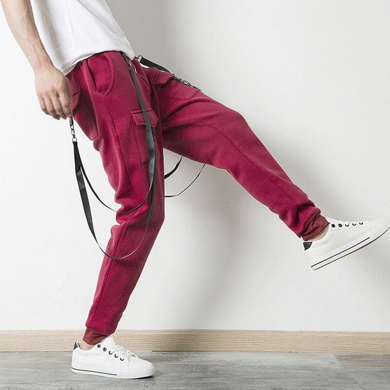 Men's Clothing 2018 New Fashion Hot Popular Mens Slim Fit Straight Leg Trousers Casual Pencil Jogger Hip Hop Pants Latest Technology Pants