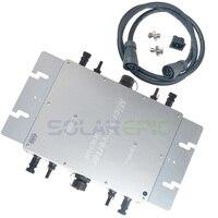 1200 Вт Водонепроницаемый сетки галстук инвертора DC22 50V к AC120V или 220 В MPPT Мощность солнечных инверторов Чистая синусоида Инвертор IP65 CE