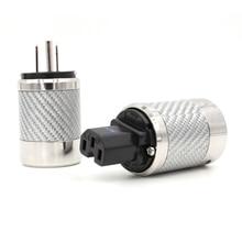 FI-50M NCF (R) High-End Grade Power Plug Rhodium Plated