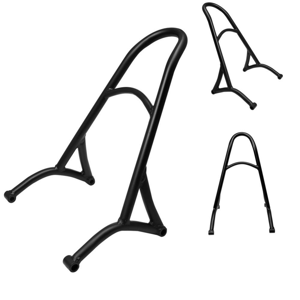 Motorcycle Backrest Passenger Sissy Bar Seat Fit For Harley Sportster XL Iron Nightster 883 1200 Forty Eight 48 2004 2017 16