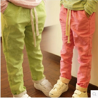 Popular Girls Linen Pants-Buy Cheap Girls Linen Pants lots from ...