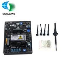 Regulador de voltaje automático, fuente de alimentación del generador AVR SX460, accesorios gratis