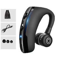 Buy Handsfree Business V9 Bluetooth Headphone With Mic Voice Control Wireless Earphone Bluetooth Headset For Drive Noise Cancelling directly from merchant!
