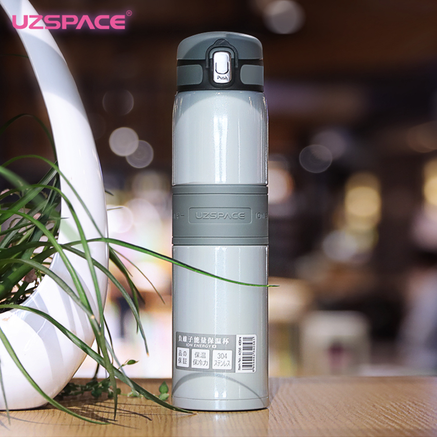 2017 Uzspace Excellent Anion Energy Vacuum and Women Stainless Steel Portable Work In a Office Protect for Thermos Fashion Cup
