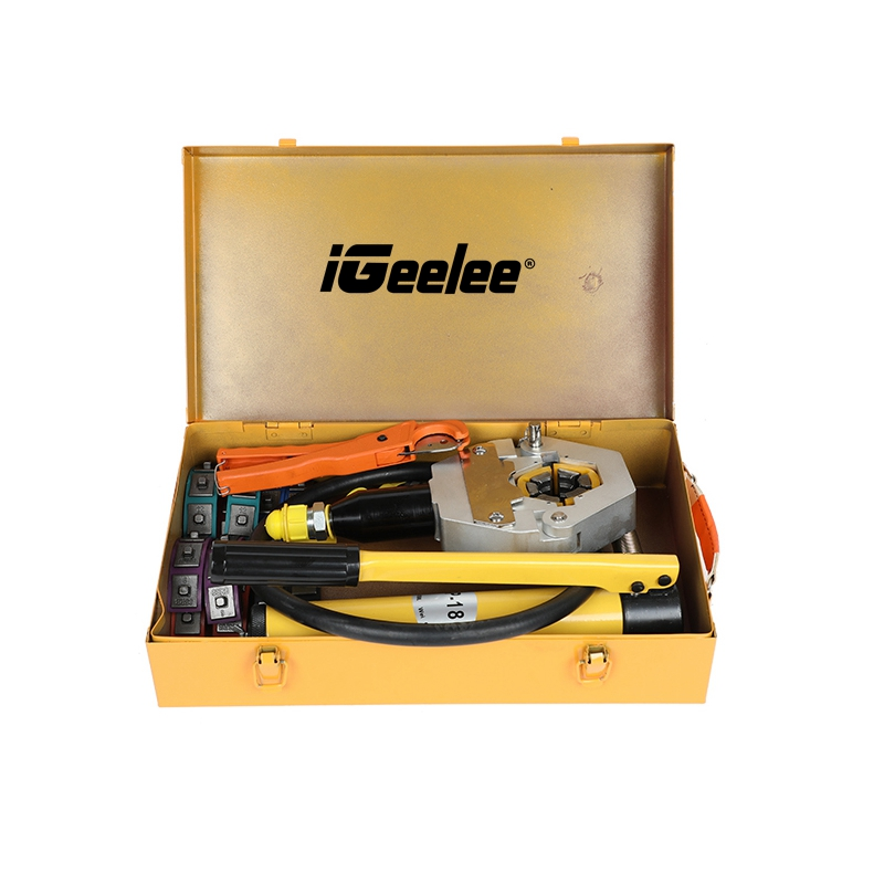 iGeelee Hydraulic-Hose-A-C-Crimping-Tool-With-Manual-Pump (3)