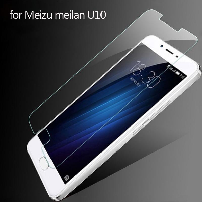Tempered Glass for Meizu U10 Meilan 9H 2.5D Explosion-proof&Scratch-proof Screen Protector film Case for Meizu U10  Prime