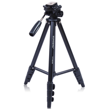 VCT-681RM YUNTENG professional Tripod with Damping Head for 550D 600D 500D 5D Carrying free shipping