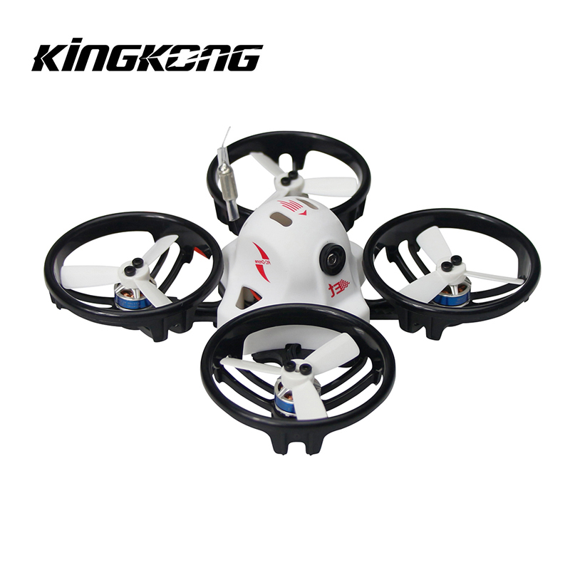 Hot New KINGKONG/LDARC ET Series ET115 115mm Micro FPV Racing Drone 800TVL Camera 16CH 25mW 100mW VTX RC Quadcopter BNF rcmoy uav115 brushless micro fpv racing quadcopter drone f3 flight controll 800tvl vtx 10a esc tiny whoop blade inductrix