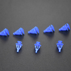 Image 5 - Xbs100PCS Auto Fasteners Car Door And Window Sealing Strip Weatherstrip Retainer Clips For VW Honda Toyota Nissan Universal