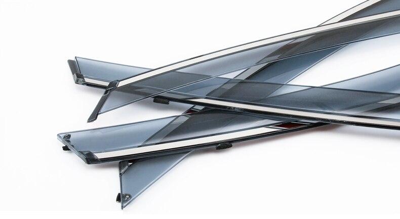 for Nissan X-Trail X trail t32 2014-2018 Window Visor Vent Shades Sun Rain Deflector Guard for Nissan X-Trail X trail t32 2014-2018 Window Visor Vent Shades Sun Rain Deflector Guard