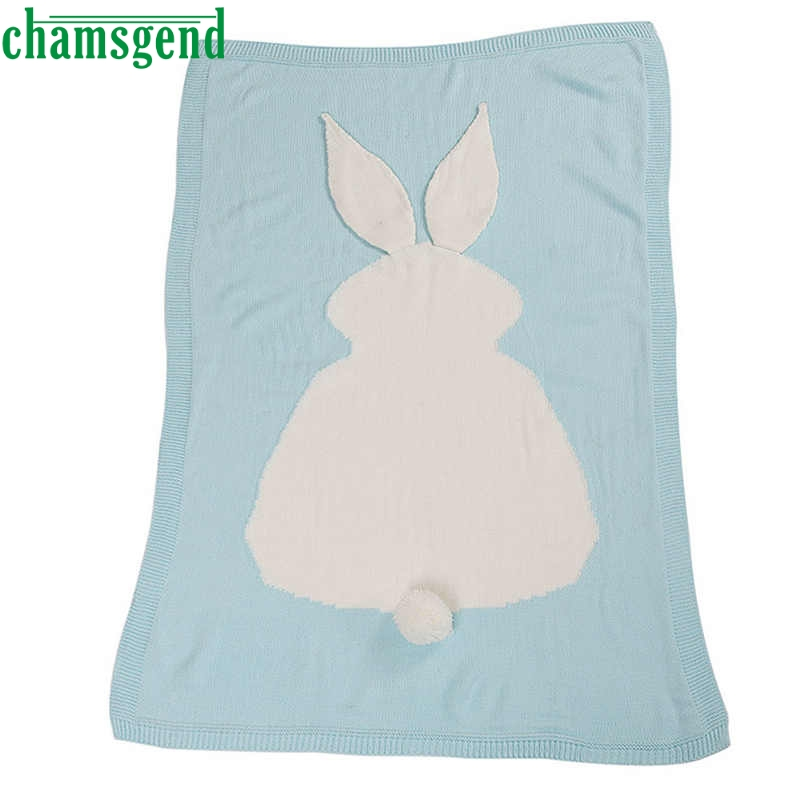 CHAMSGEND sheets drop SHIP Kids Knitting Blanket Bedding Quilt Play Blanket Throw Blanke ...