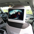 "9"" Car Headrest Monitor With DVD Display Screen KTV Music Player"