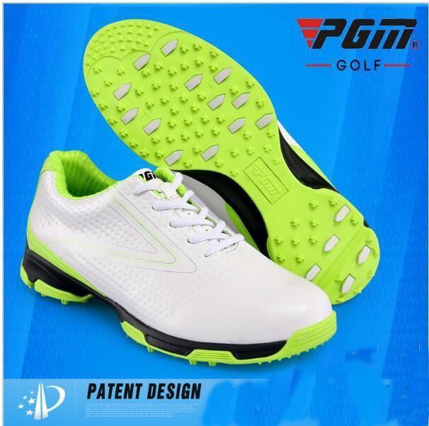 ₩PGM genuina venta 3D platina Golf zapatos deportes de los hombres ...