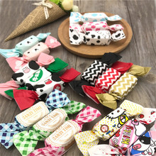 200Pcs/Lot Baking Packaging Handmade Nougat Candy Wrappers Paper for Birthday Christmas Tea Party Random Color