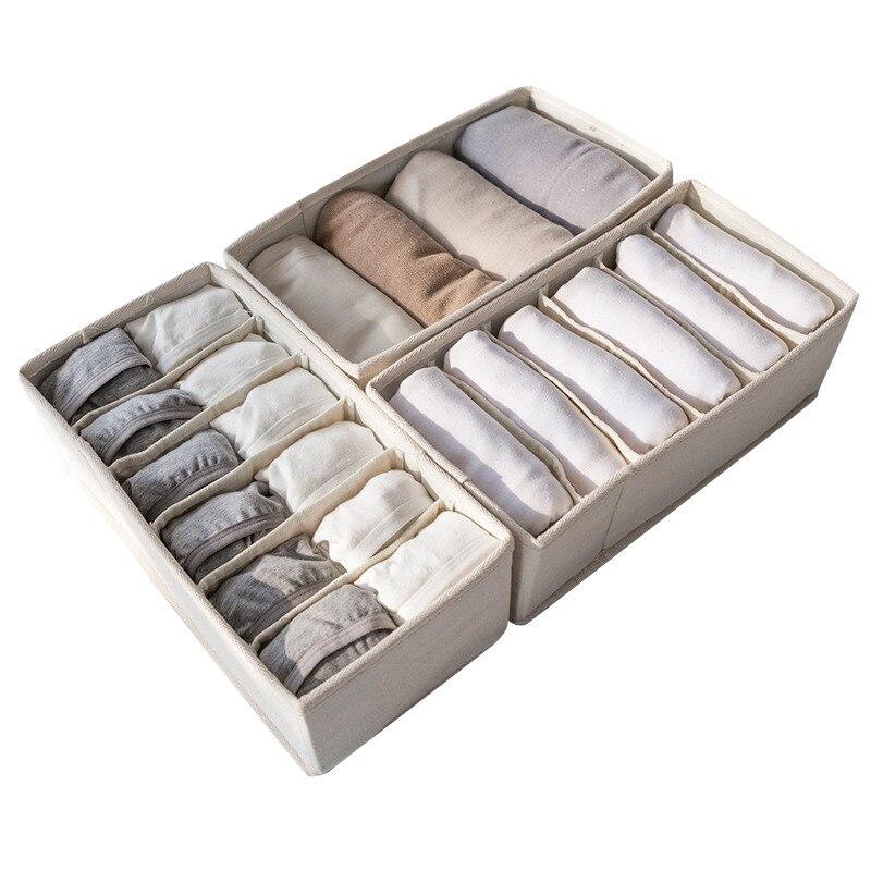 Hoomall Multi-размер нижнего белья бюстгальтер Организатор Коробка для хранения Главная ящика Шкаф организаторы для нижнего белья шарф носки шка... ...