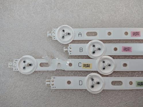 10 pièces/lot 40D1333B 40L1333B 40PFL3208T LTA400HM23 LED rétro-éclairage barre SVS400A79 4 LED A B D 5 LED C type Rev.1 120712