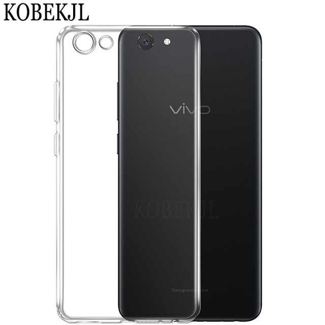 new products 2fecb b468a US $1.59 20% OFF|Case For Vivo Y81 Case Vivo Y81 Cover Soft Silicone  Transparent TPU Back Cover Phone Case For Vivo Y81 Y 81 VivoY81 6.22
