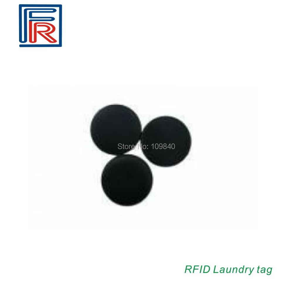 100PCS 13.56 MHz Diameter 13mm PPS RFID High Temperature Laundry Tag with I CODE2 chip ISO15693 card/tags 26mm iso15693 rfid pps laundry tags with 13 56mhz i code sli chip 1000pcs lot
