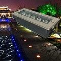 Fábrica de preços Por Atacado 5x2 W LED lavador de parede luzes, RGB/Branco Levou luz ao ar livre, 85 ~ 265 V, IP68, 200*80*60 MM Led subterrânea lâmpada
