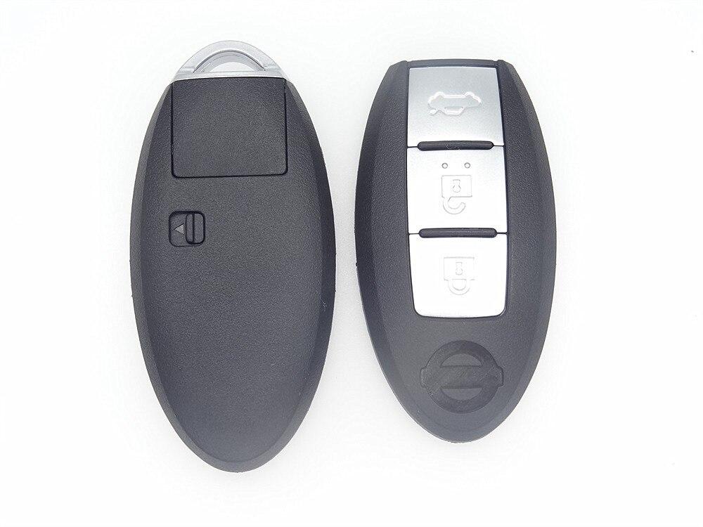 Nueva Repuesto Coche clave 3 Botones Plegable shell Dominante Alejado para Niss