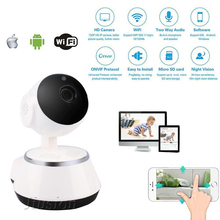 كاميرا مراقبة للتخزين السحابي Comsumer Wifi IP كاميرا مربية حساسات الحركة الرقمية رؤية ليلية أمان للأطفال