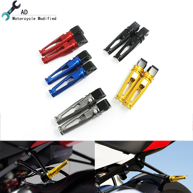 Aluminum Front Footrest Foot pegs For HONDA CBR500 CBR500R 2013-2017 2016 2015