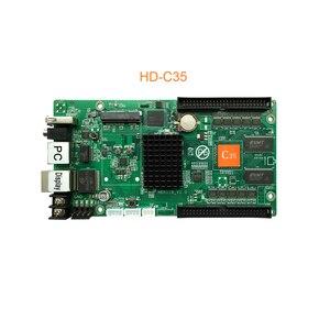 Image 3 - 2020 Huidu HD C10 C10C C30 yükseltme HD C15 C15C C35 C35C en 3th nesil Asynch tam renkli LED ekran kontrolü kart