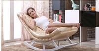 The lazy sofa.. Solid wood rocking chair.. Nap deck chair.. Deck chair