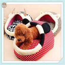 Cartoon Animal Shaped Slippers Nest Sleeping Pet Dog Bed