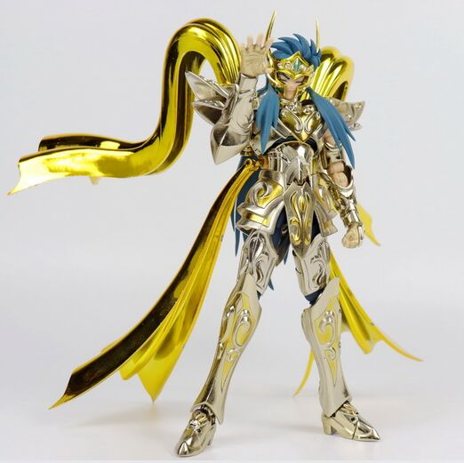 in stock Great Toys model god Aquarius Camus sog metal armor soul of god Ex toy