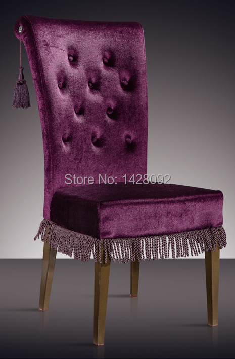 European And American Style Comfortable Upholstered Dining Chair LQ-L8854-1