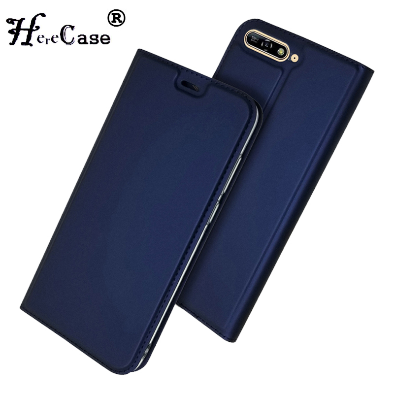 <font><b>Honor</b></font> <font><b>7A</b></font> Pro <font><b>Case</b></font> Soft PU Book Cover Card Slot Wallet Leather <font><b>Flip</b></font> <font><b>Case</b></font> For <font><b>Huawei</b></font> <font><b>Honor</b></font> <font><b>7A</b></font> Pro For <font><b>Huawei</b></font> Y6 Prime 2018 <font><b>Case</b></font> image