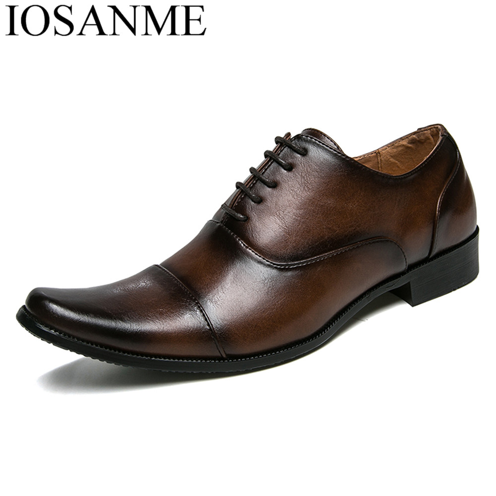 mens formal classic shoes luxury brand pointed toe male shoes adult eurpean italian leather footwear dress derby shoes for men men goodyear welt shoes made man shoes round toe calfskin custom made mens shoes restoring carve patterns italian brand classic