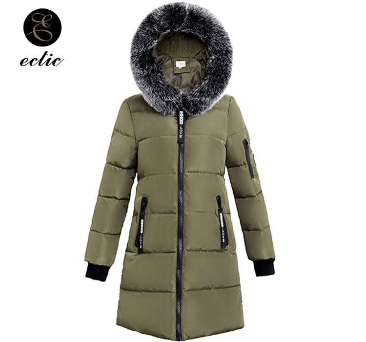 16669c8ecd9 The plus size jacket is designed by moda designers for women in winter  2018. The streetwear parka can make you look elegant.