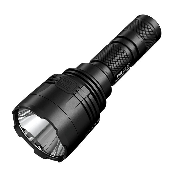Outdoor Flashlight NITECORE P30 CREE XP L HI V3 LED max 1000 lumen beam distance 618