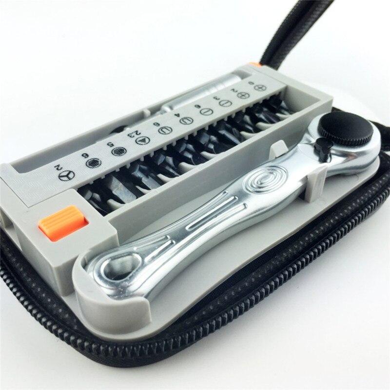 12PCS / sada mini přenosných rychloběžných šroubováků - Sady nástrojů - Fotografie 5