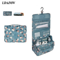 Travel Set High Quality Waterproof Portable Toiletry Storage Bag Women Cosmetic Organizer Pouch Hanging Wash Bags