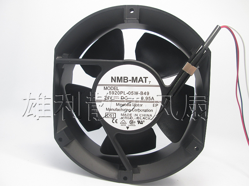 Free Delivery.5920PL-05W-B49 172 * 150 * 50MM 24V 0.95A Inverter fan new and original inverter fan 5920pl 05w b40 1751 24v axial fan authentic spot 172 150 50mm